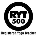 Registered yoga teacher 500 hours