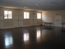 The hall at Merriwa School of Arts, NSW